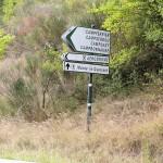 Panneau de signalisation Campferrier sur le D117