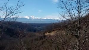 Spring, still plenty of snow on the peaks